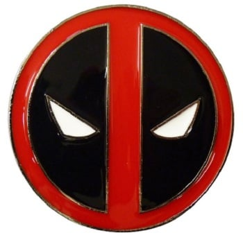 Deadpool Logo Belt Buckle