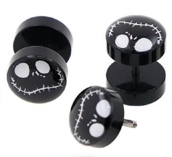 Jack Skellington Fake Plugs