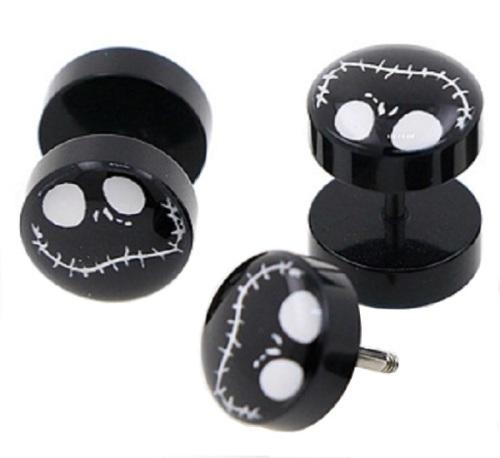 Jack Skellington Fake Plugs