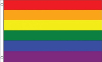 Large Rainbow Flag 3ft x 5ft