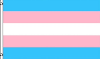 Large Transgender Pride Flag 3ft x 5ft