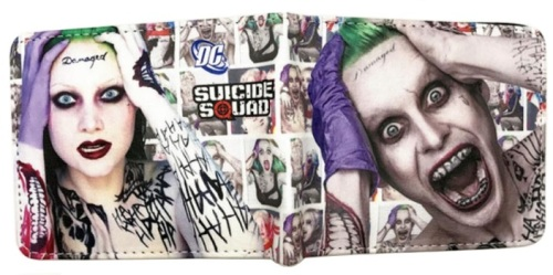 Suicide Squad Joker and Harley Wallet