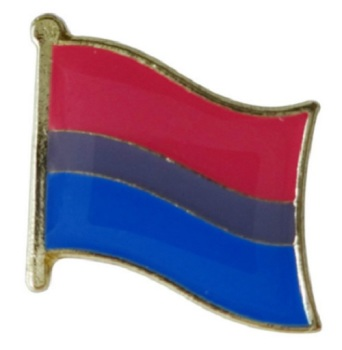 Bisexual Flag Lapel Pin Badge