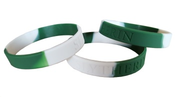Hogwarts Slytherin Silicon Rubber Wristband