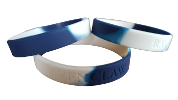Hogwarts Ravenclaw Silicon Rubber Wristband
