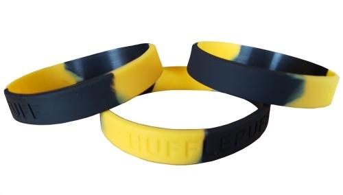 Hogwarts Hufflepuff Silicon Rubber Wristband