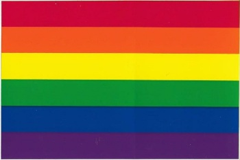 Rainbow Flag Vinyl Sticker