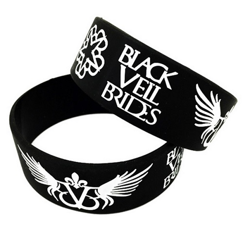 Black Veil Brides Rubber Wristband