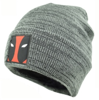 Grey Deadpool Beanie
