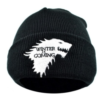 Game of Thrones Stark Beanie -Winter is Coming