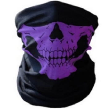 Purple Skull Multifunctional