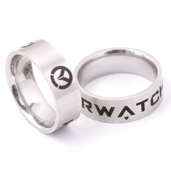 Surgical Steel Overwatch Ring