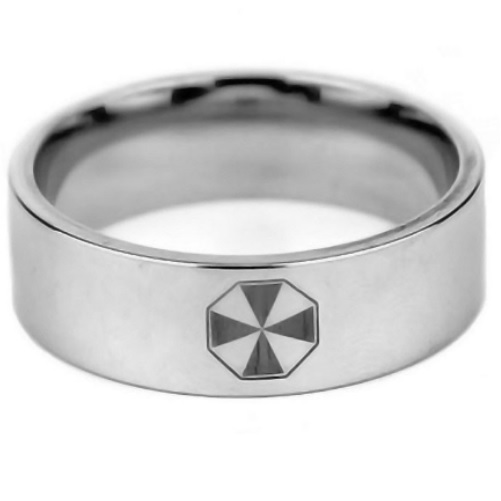 Surgical Steel Resident Evil Ring