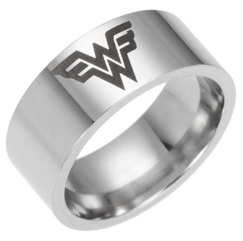Surgical Steel Wonder Woman Ring