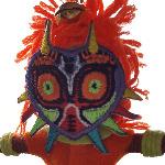 Majora's Mask String Doll Keyring