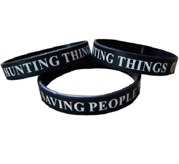 Supernatural Inspired Silicon Rubber Wristband
