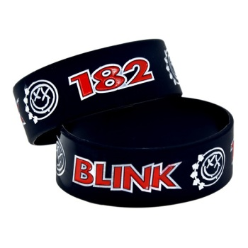 Blink 182 Silicon Rubber Wristband