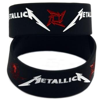 Metallica Silicon Rubber Wristband