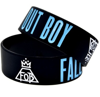 Fall Out Boy Silicon Rubber Wristband