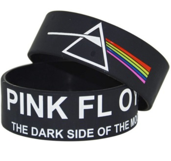 Pink Floyd - Dark Side of the Moon - Silicon Rubber Wristband