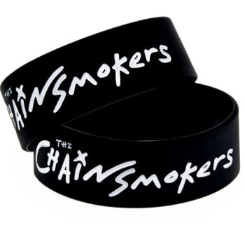 The Chainsmokers Silicon Rubber Wristband