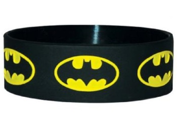 Batman Logo Silicon Rubber Wristband