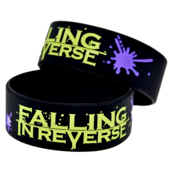 Falling In Reverse Silicon Rubber Wristband