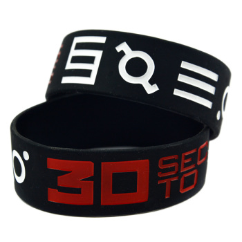 30 Seconds to Mars Silicon Rubber Wristband
