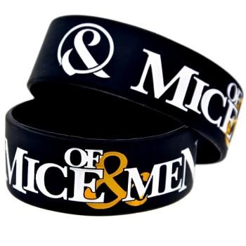 Of Mice & Men Silicon Rubber Wristband