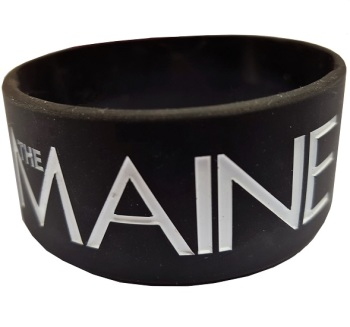 The Maine Silicon Rubber Wristband