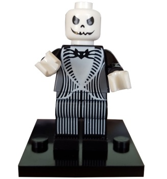 Jack Skellington Building Block Minifigure