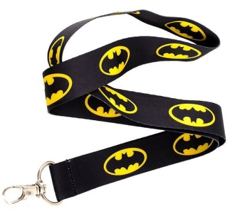 Batman Logo Lanyard