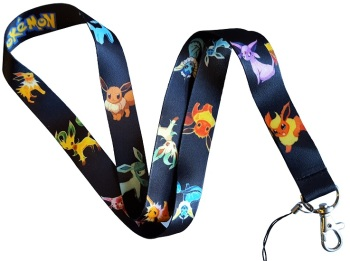 Pokemon Eveelutions Lanyard