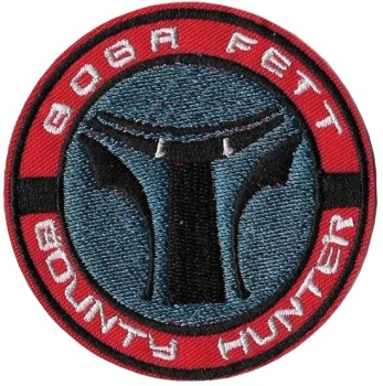 Star Wars Bob Fett Bounty Hunter Iron On Patch