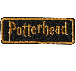 "Harry Potter ""Potterhead"" Iron On Patch"