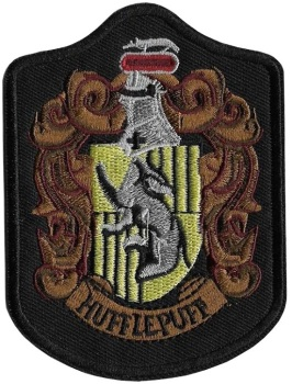 Harry Potter Hufflepuff Crest Iron On Patch