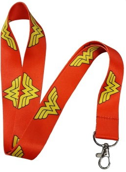 Wonder Woman Logo Lanyard