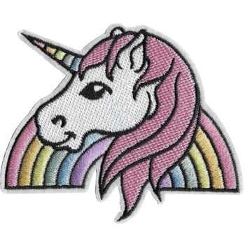 Unicorn Iron-On Patch