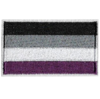 Asexual Pride Flag Iron On Patch