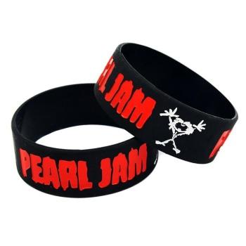 Pearl Jam Silicon Rubber Wristband