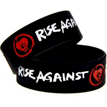 Rise Against Silicon Rubber Wristband