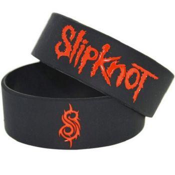 Slipknot Silicon Rubber Wristband