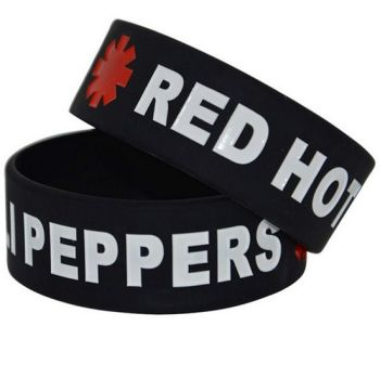 Red Hot Chili Peppers Silicon Rubber Wristband
