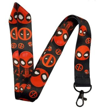 Cartoon Deadpool Lanyard