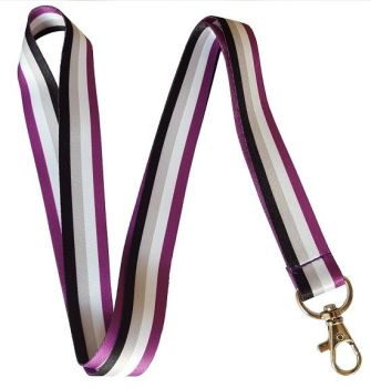 Asexual Lanyard - with or without Whistle.