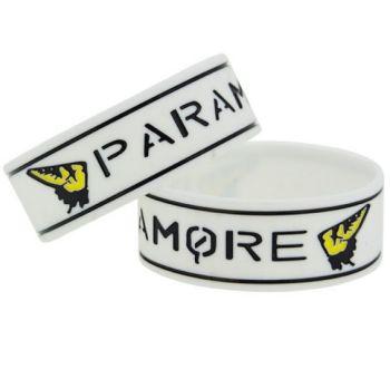 Paramore Silicon Rubber Wristband
