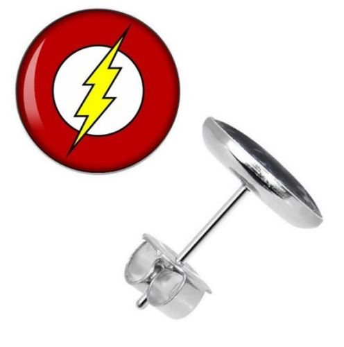The Flash Surgical Steel Ear Studs