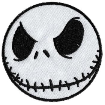 Nightmare before Christmas Jack Skellington Iron On Patch