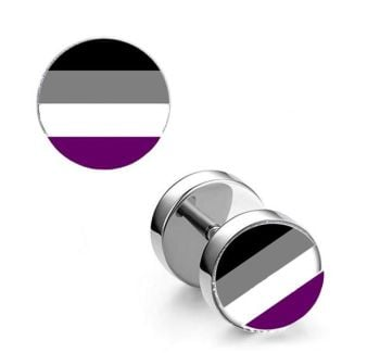 Surgical Steel 10mm Asexual Imitation Stretched Ear Plugs