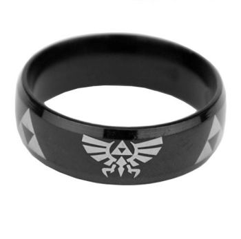 Anodised Titanium Legend of Zelda Ring